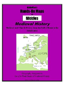 BiblioPlan: Medieval, Renaissance & Reformation Map Packet