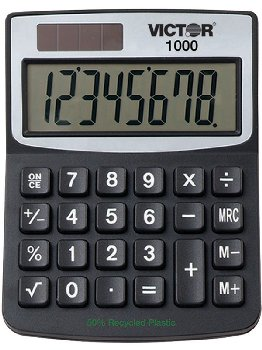 Victor Mini Desktop Calculator 1000