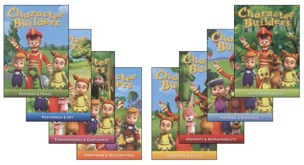 Character Builders Set of 8 DVDs