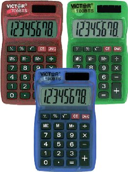 Victor Super Large Display Compact Calculator 700BTS