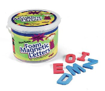 "Foam Magnetic Letters - Upper Case (2"")"