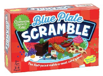 Blue Plate Scramble Card Game