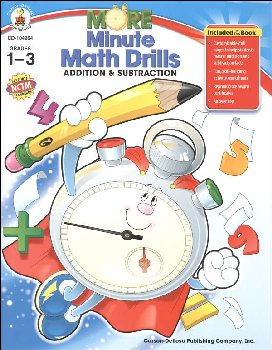More Minute Math Drills Addition & Subtraction