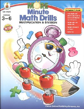 More Minute Math Drills Multiplication & Division