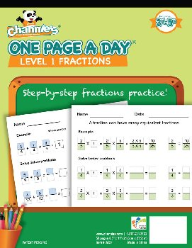 One Page a Day Fractions