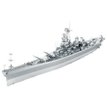 USS Missouri BB-63 (Metal Earth 3D Laser Cut Model)