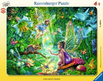 Fairy Magic Frame Puzzle (40 pieces)