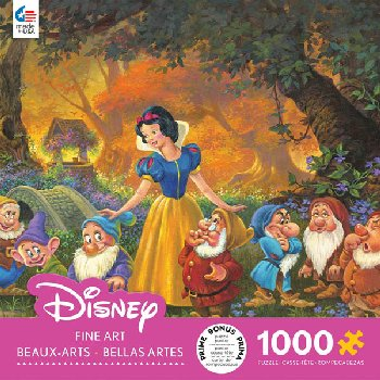 Disney Fine Art - Among Friends Puzzle (1000 Piece)