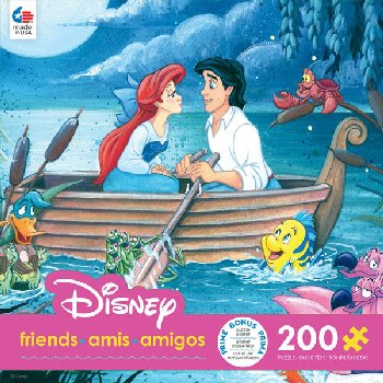 Disney Friends - Something About Her Puzzle (Oversized) 200 Piece