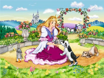 Little Princess Puzzle (35 pieces)