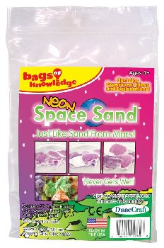 Space Sand (Neon Orange/Purple/Green) Bag Knw