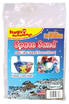 Bags of Knowledge - Space Sand (Red, Yellow & Blue)