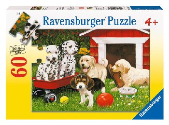 Puppy Party Puzzle (60 pieces)
