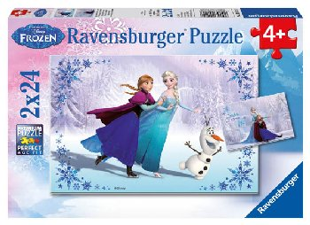 Sisters Always Puzzles (Two 24-piece puzzles)