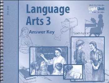 Language Arts 301-310 Answer Key Sunrise 2nd Edition