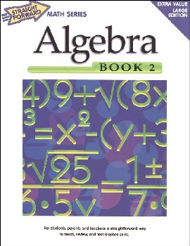 Algebra Book 2 (Straight Forward Math)