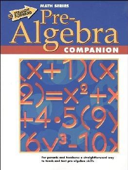 Pre-Algebra Companion (Straight Forward Math)
