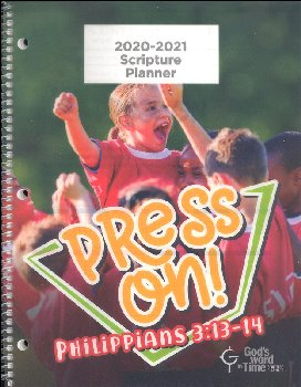 Student Scripture Planner ESV Large Elementary August 2019 - July 2020