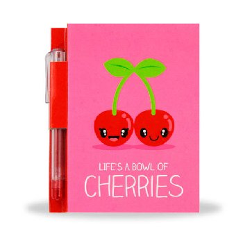 Sketch & Sniff Note Pad - Cherry