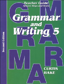 Grammar & Writing 5 Teacher Packet 2ED