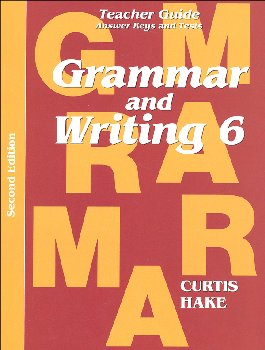Grammar & Writing 6 Teacher Packet 2ED