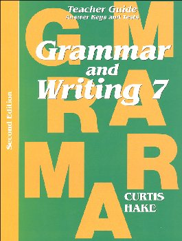 Grammar & Writing 7 Teacher Packet 2ED