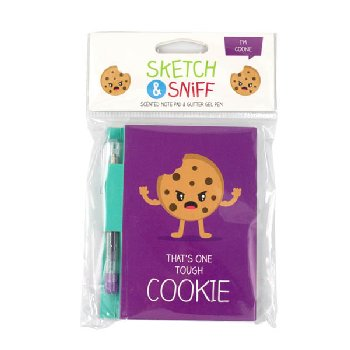 Sketch & Sniff Note Pad - Cookie