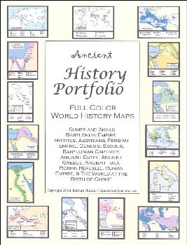 Ancient History Portfolio Full Color Maps
