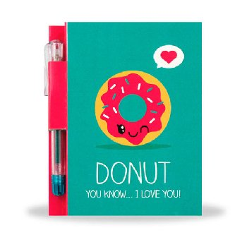 Sketch & Sniff Note Pad - Donut