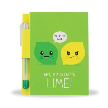 Sketch & Sniff Note Pad - Lemon-Lime