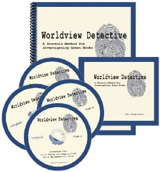 Worldview Detective: A Socratic Method for Investigating Great Books (DVD Seminar & Workbook)