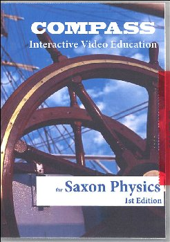 Compass CD-ROM Saxon Physics 1st Edition
