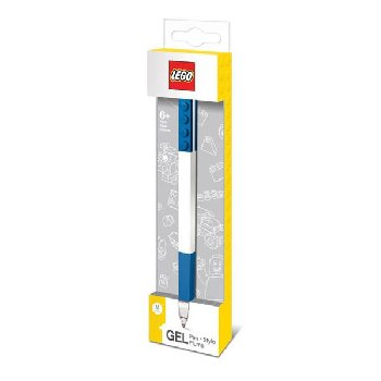 LEGO Brick Gel Pen - Blue