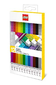 LEGO Bricks Gel Pens - 12 pack