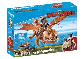 Fishlegs and Meatlug (DreamWorks Dragons II)