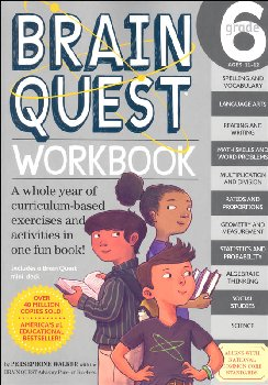 Brain Quest Workbook Grade 6