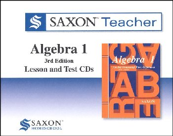 Saxon Teacher for Algebra 1 (3rd Edition) CD-ROM set