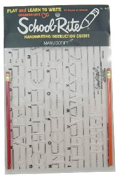 Handwriting Guide: Manuscript - Uppercase