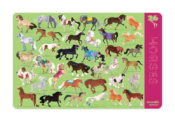 Horses Two-Sided Placemat