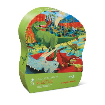 Land of Dinosaurs Mini Puzzle (24 pieces)