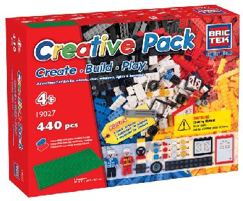 Creative Pack (440 Pieces) - Brictek