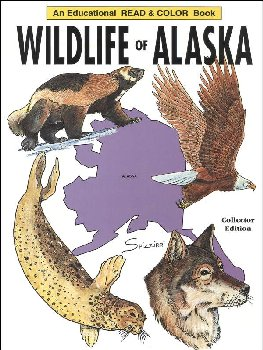 Wildlife of Alaska Coloring Book