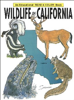 Wildlife of California Coloring Book