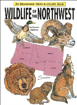 Wildlife of the Northwest Coloring Book
