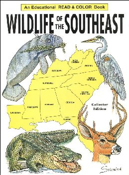 Wildlife of the Southeast Coloring Book