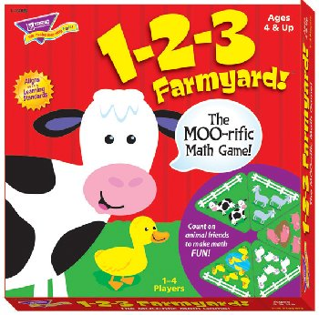 1-2-3 Farmyard! MOO-rific Math Game