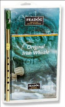 Irish Penny Whistle w/ Booklet