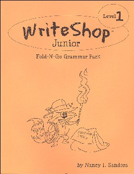 WriteShop Junior Fold-N-Go Grammar Pack - Level 1