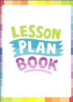 Lesson Plan Book - Painted Palette