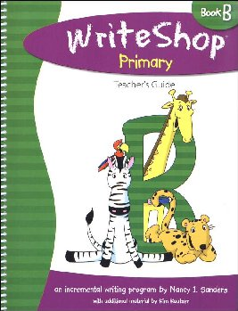 WriteShop Primary Book B Teacher's Guide
